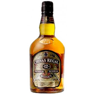 CHIVAS REGAL 12 AÑOS - 70cl.