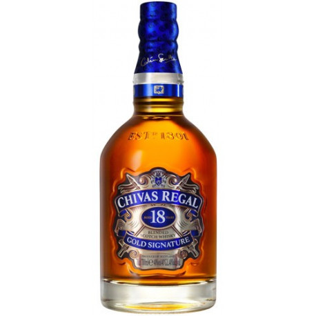 CHIVAS REGAL 18 AÑOS - 70cl.