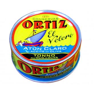 ATÚN CLARO EN ACEITE DE OLIVA ORTIZ - 250G