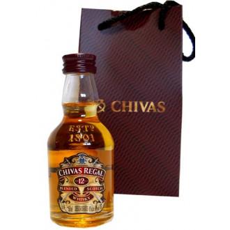 CHIVAS REGAL 12 AÑOS - MINIATURA