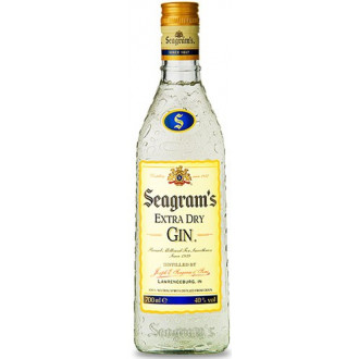 SEAGRAM´S EXTRA DRY - 70cl.